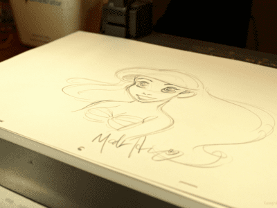 Disney animator Mark Henn