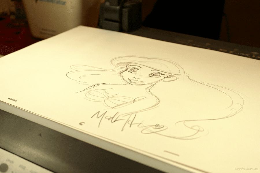 Disney animator Mark Henn