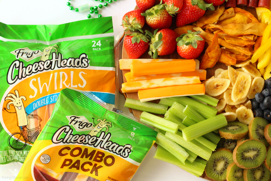 Frigo cheese heads kids snack idea