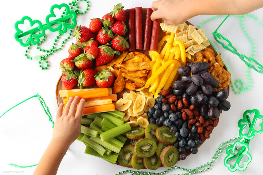 Kids St. Patrick's Day snack idea