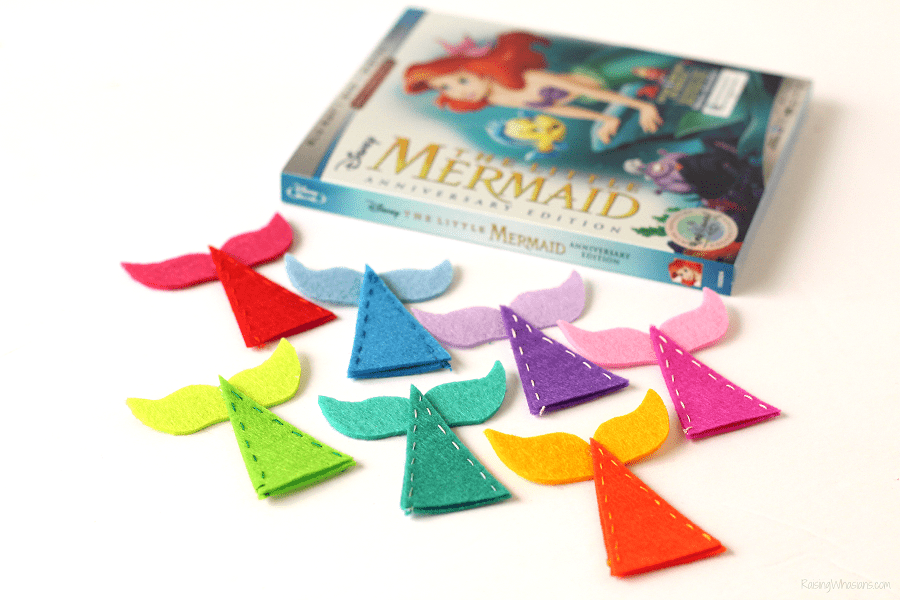 Mermaid tail diy craft