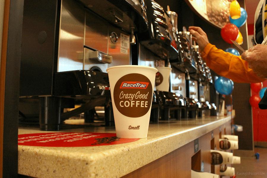 New RaceTrac coffee machines