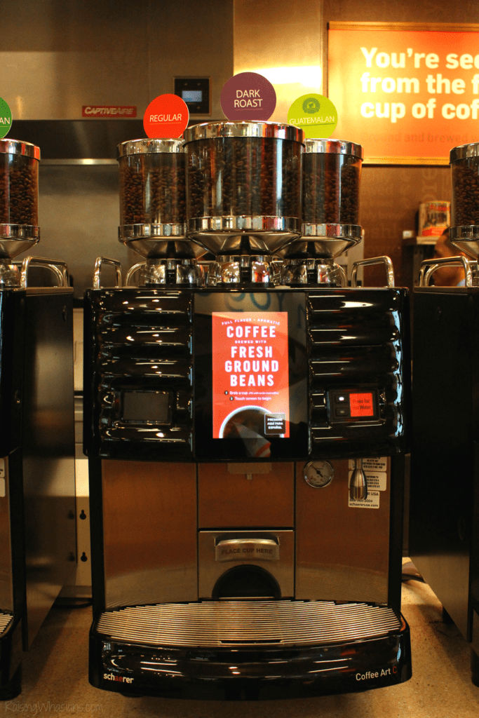 Where to find new RaceTrac coffee machines