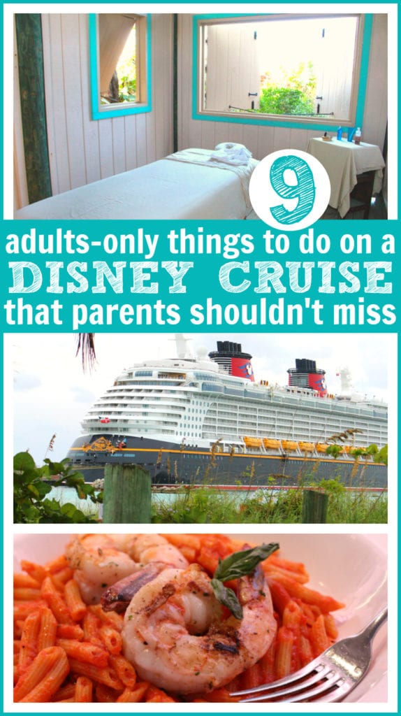 Disney cruise things to do for adults