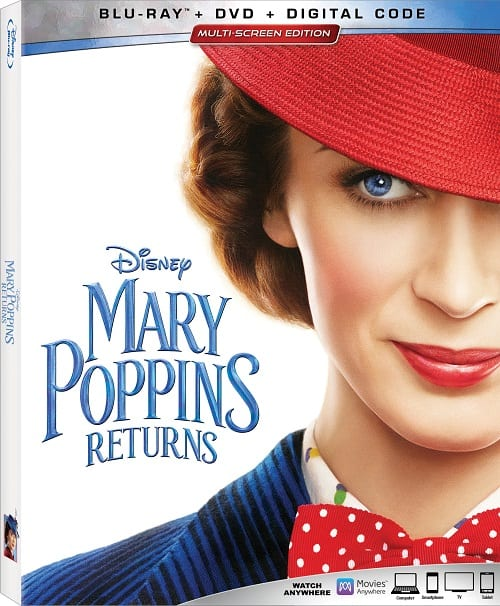 Mary Poppins returns blu-ray bonus features