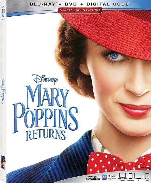 Mary Poppins returns blu-ray bonus features