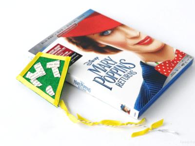 Mary Poppins returns craft kite DIY