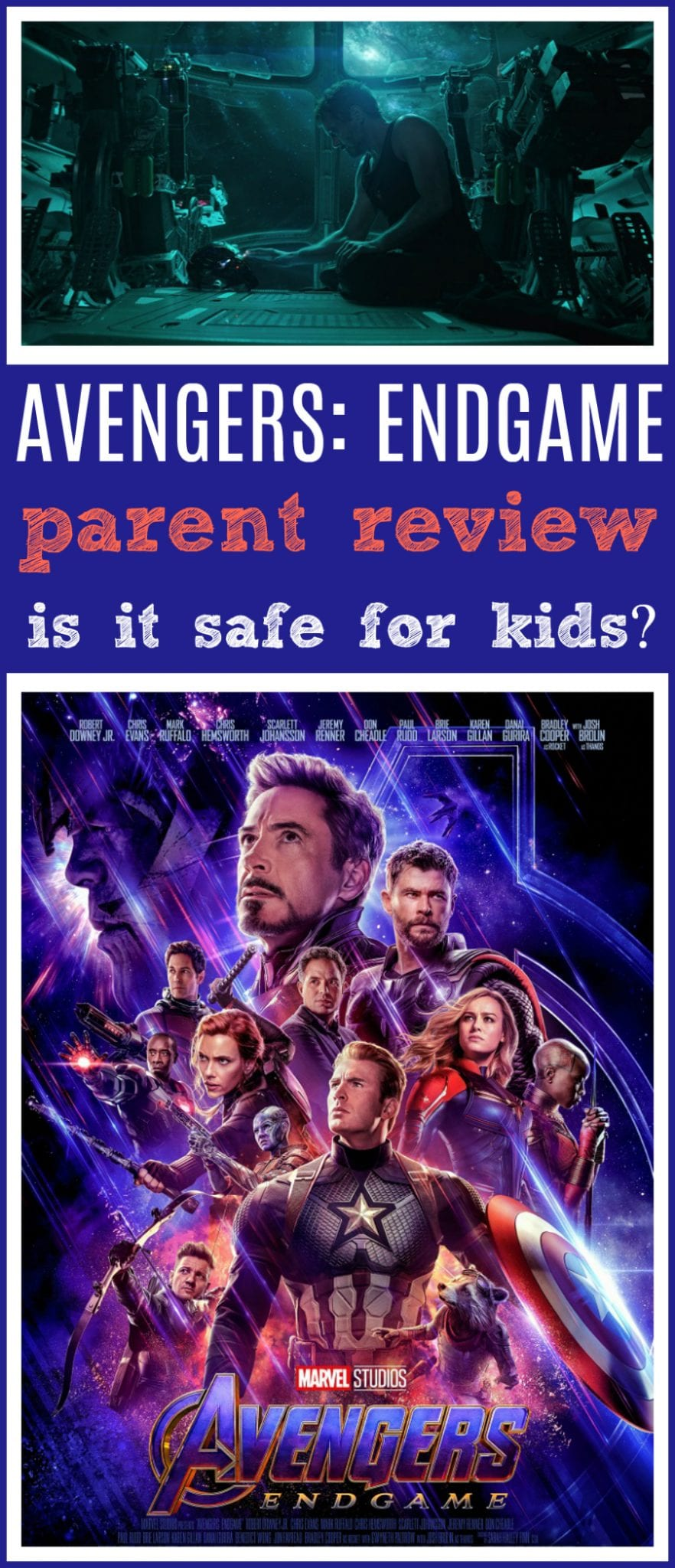 Avengers endgame movie review for families
