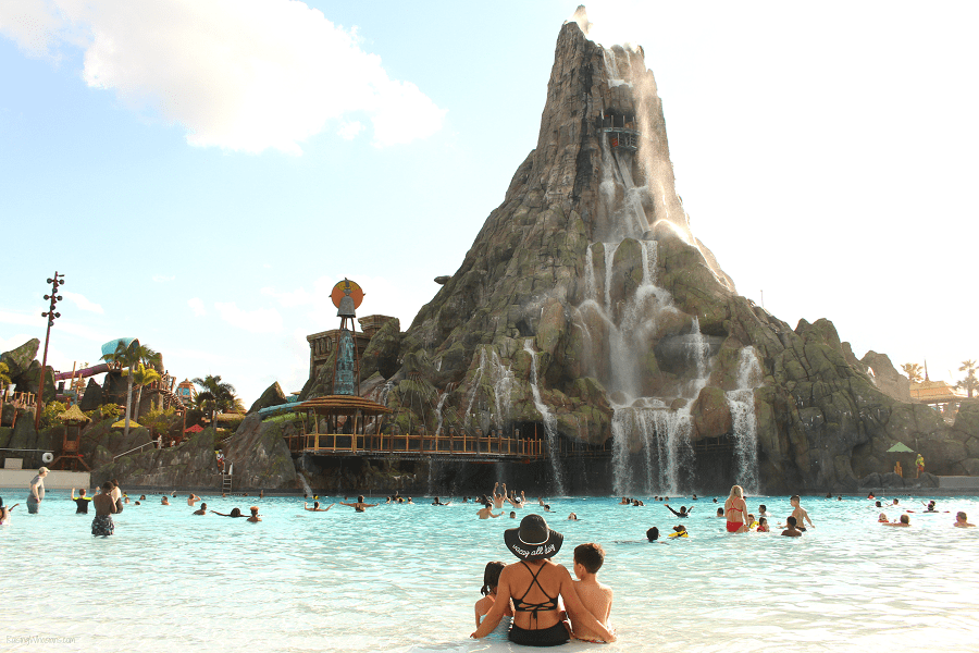 Closest hotel to volcano bay