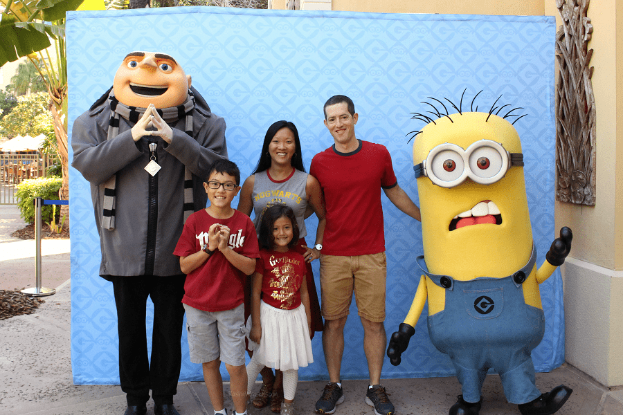 Despicable me character breakfast tips