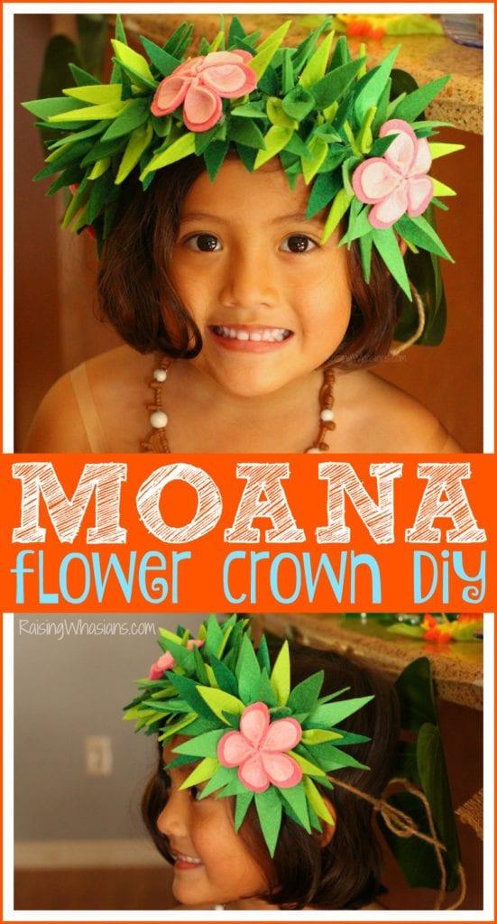 Moana kids craft