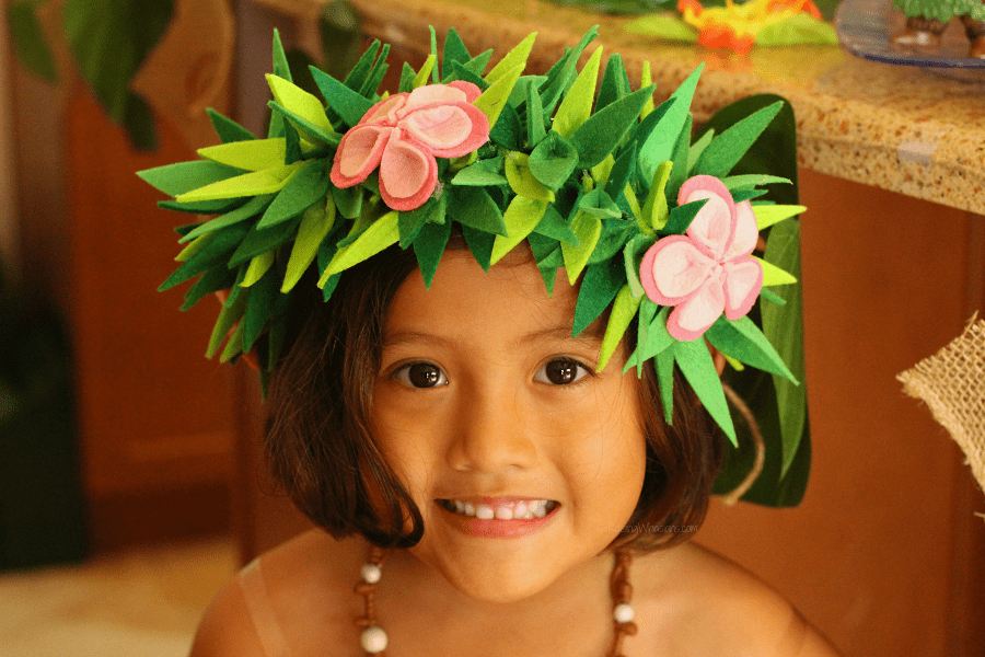 Moana party crown tutorial