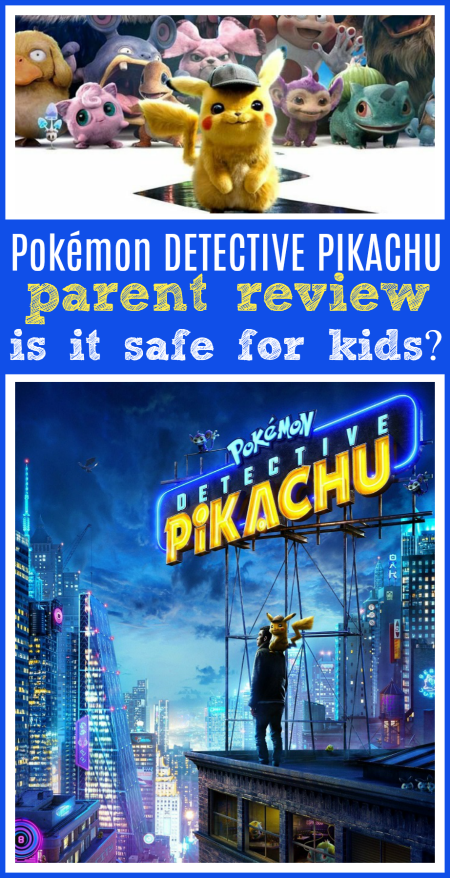 Pokémon detective pikachu parent movie review