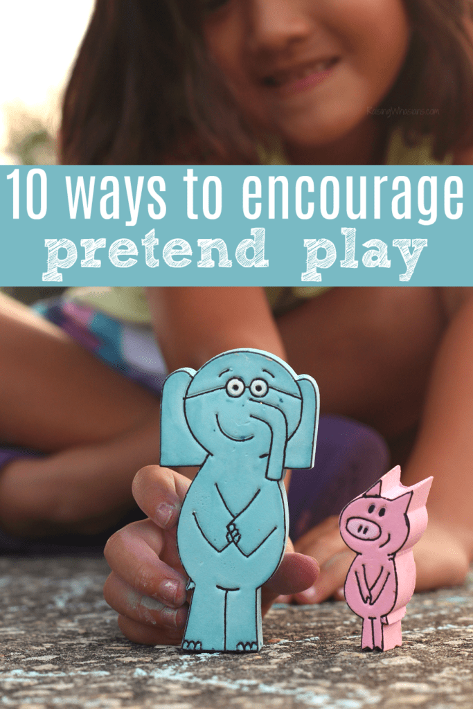 Pretend play tips for parents