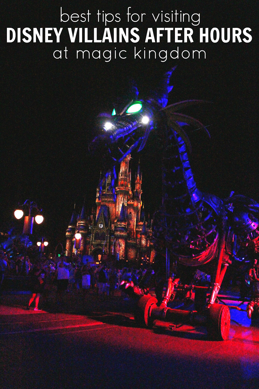 Disney villains after hours guide