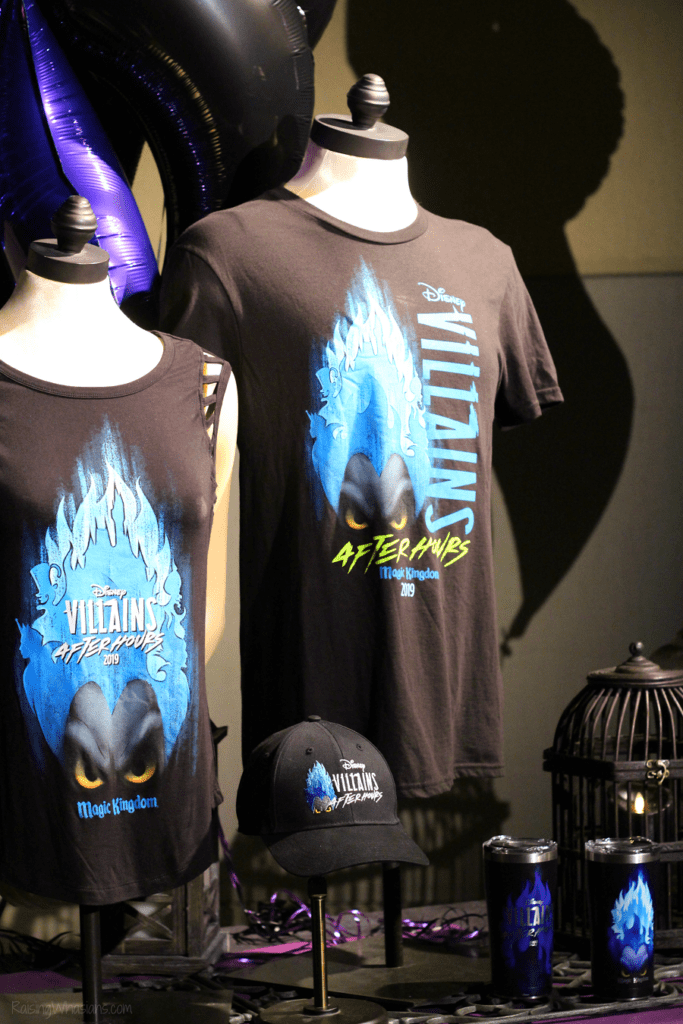 Disney villains after hours merchandise discounts