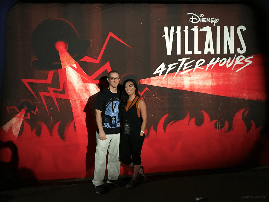 Disney villains after hours photo ops