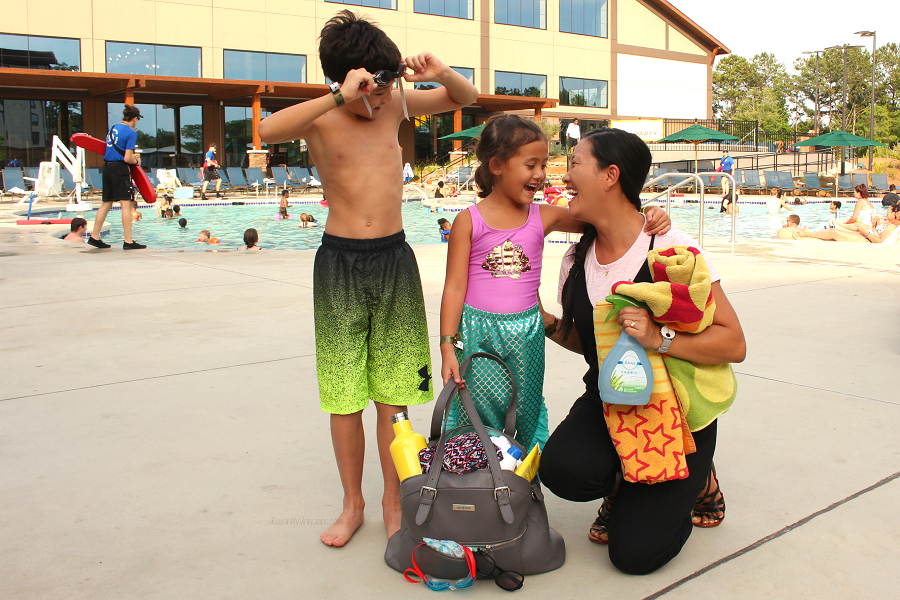 Swim lesson needs for parents