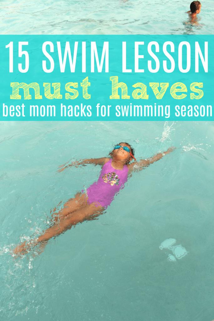Swimming mom hacks