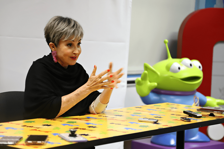 Toy story Annie Potts interview