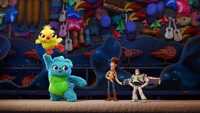 Toy story 4 ok for children