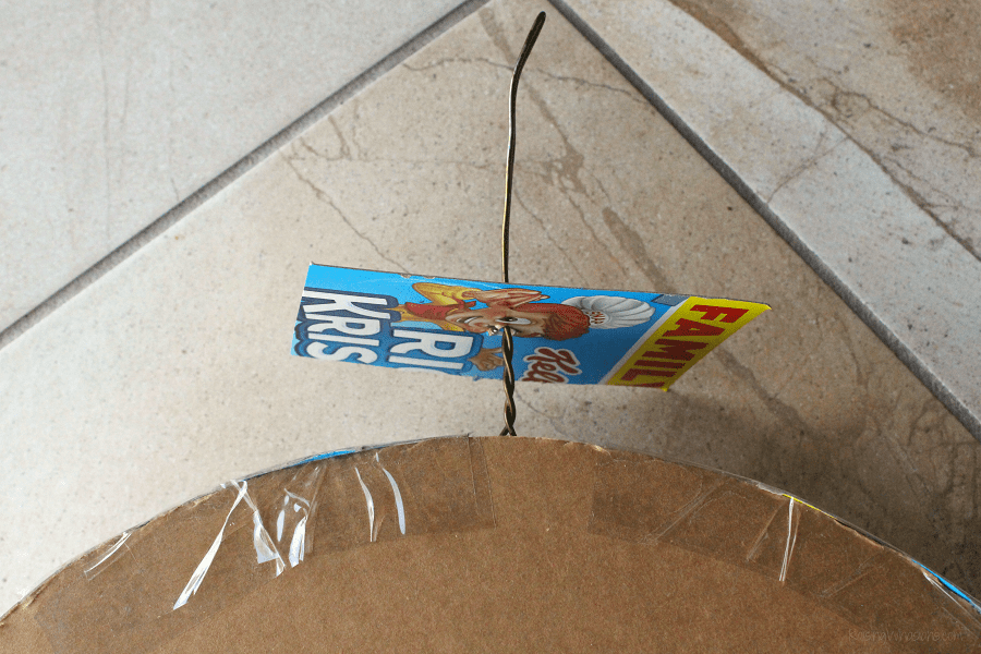 How to make cereal box pinata