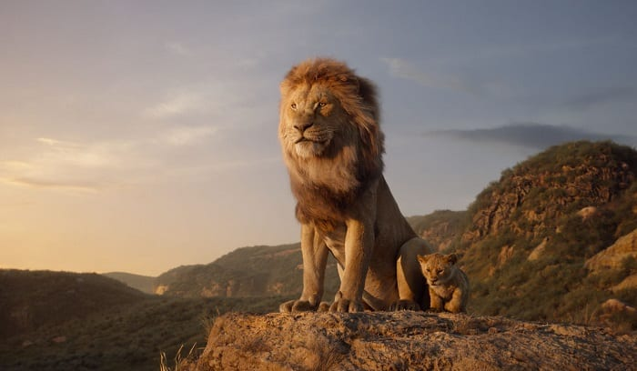 Is lion king movie ok for children