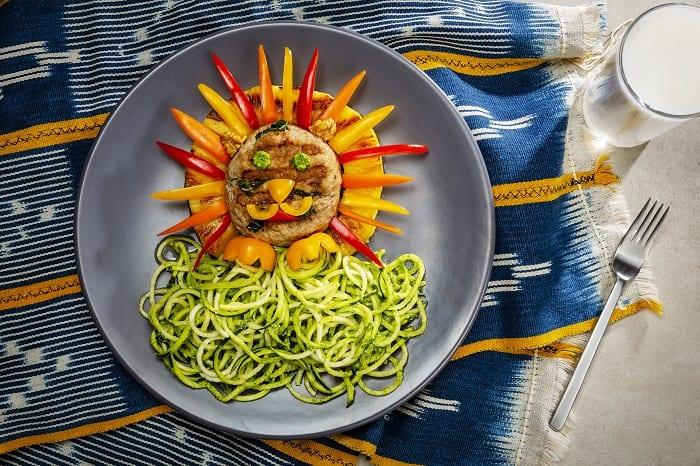 Lion king lunch idea