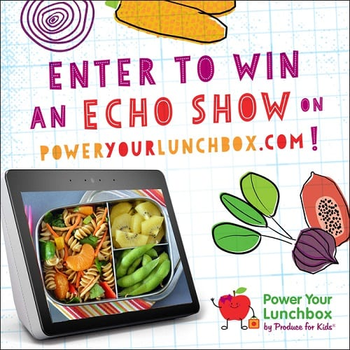2019 power your lunchbox sweepstakes