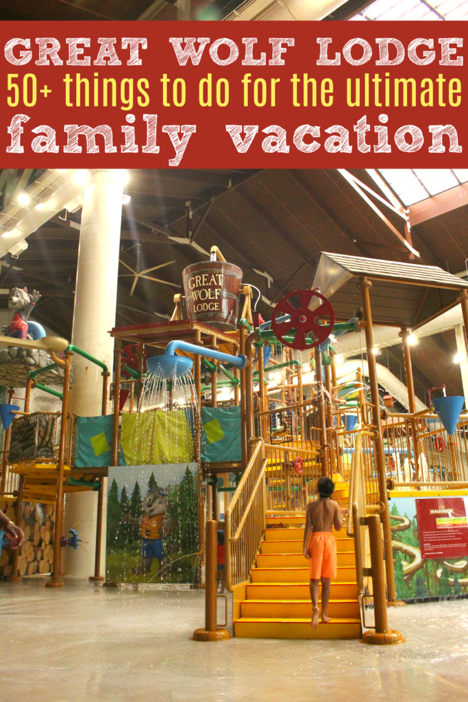Things to do great wolf lodge