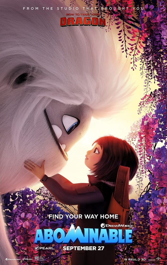 Abominable movie review safe for kids