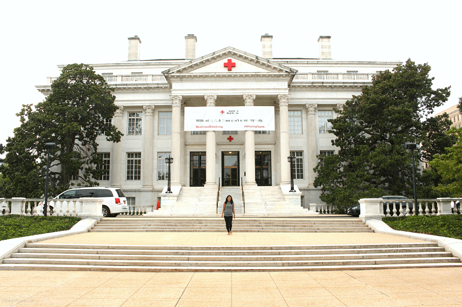 American red cross free tours