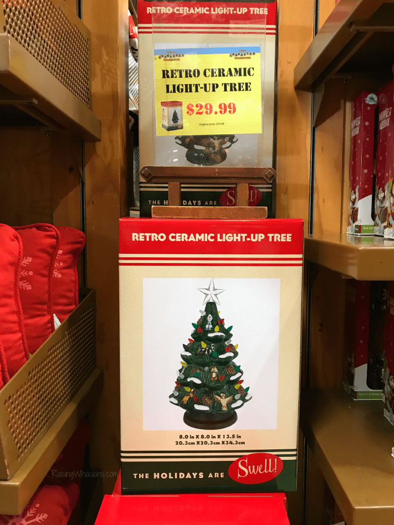 Disney outlet holiday merchandise