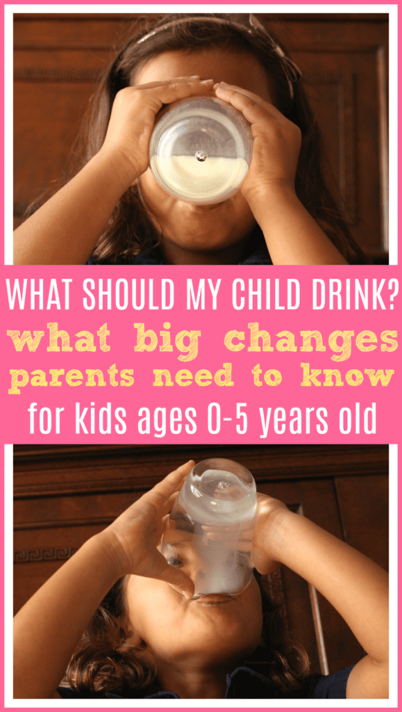 Drink guidelines for kids