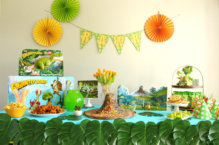 Gigantosaurus party ideas
