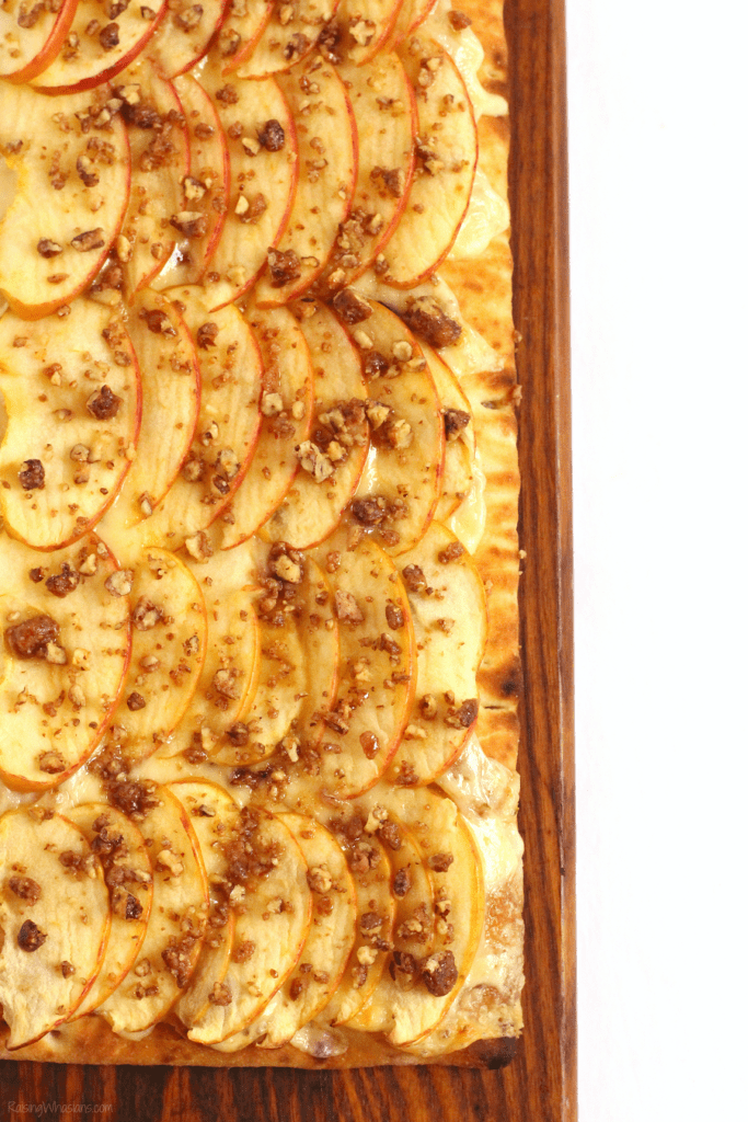 Easy fall flatbread recipe
