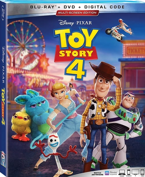 Toy story 4 bonus features