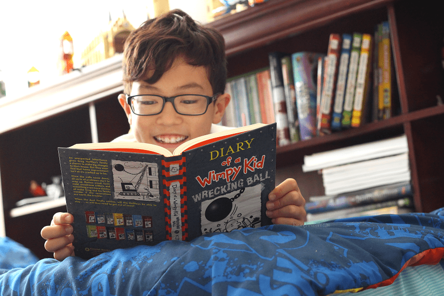 Diary of a wimpy kid wrecking ball book review