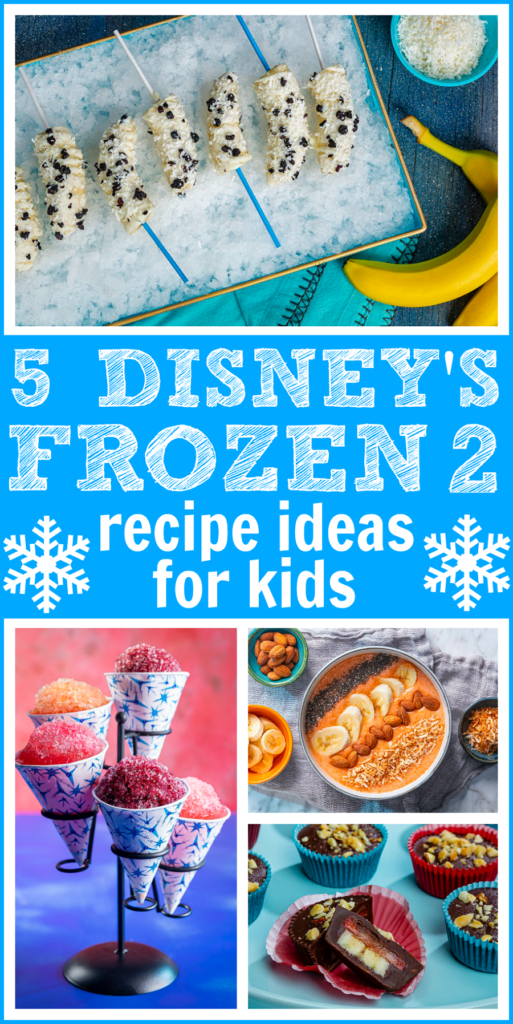 Frozen 2-inspired recipes
