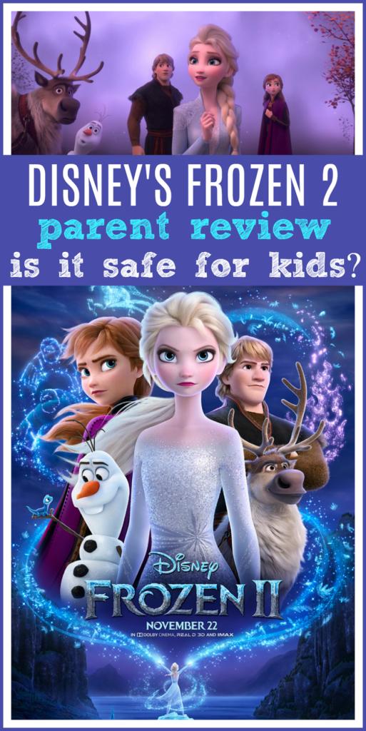 Frozen 2 ok for kids