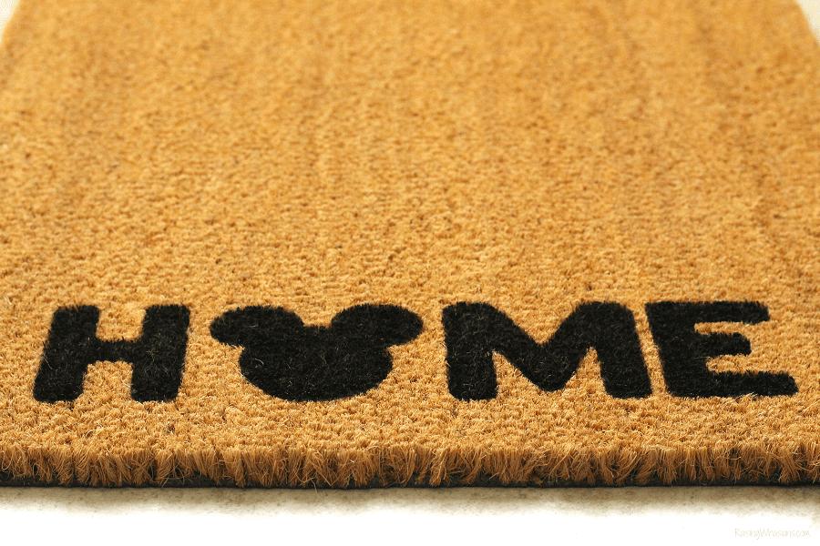 Best DIY doormat stencil material