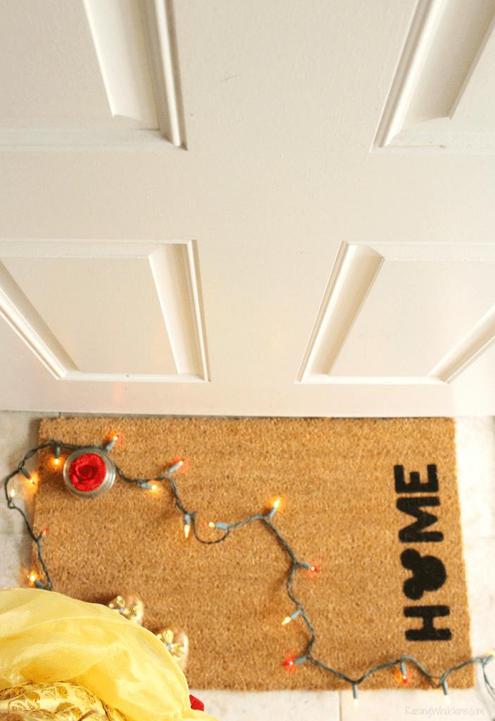 DIY Disney doormat