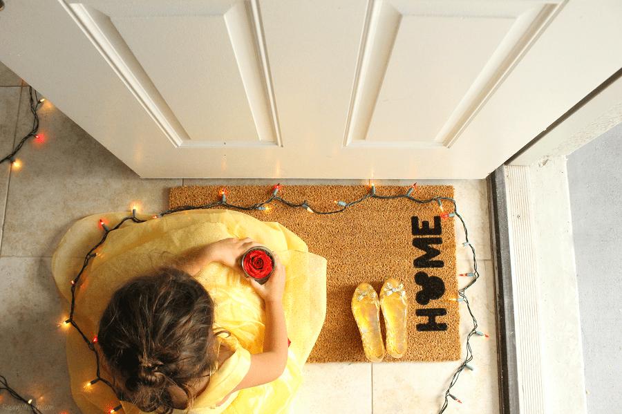 Easy DIY doormat tutorial
