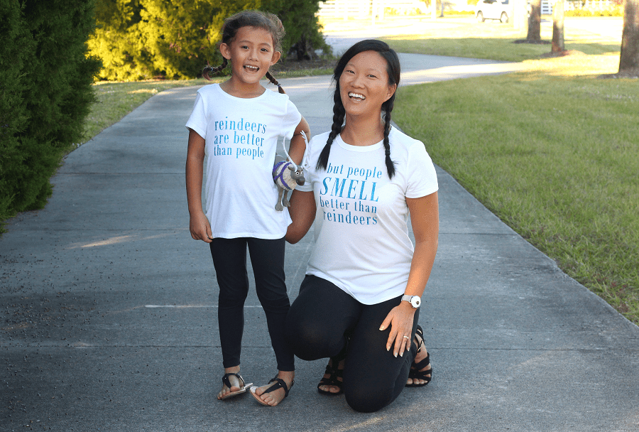 Mommy and me disney frozen tees