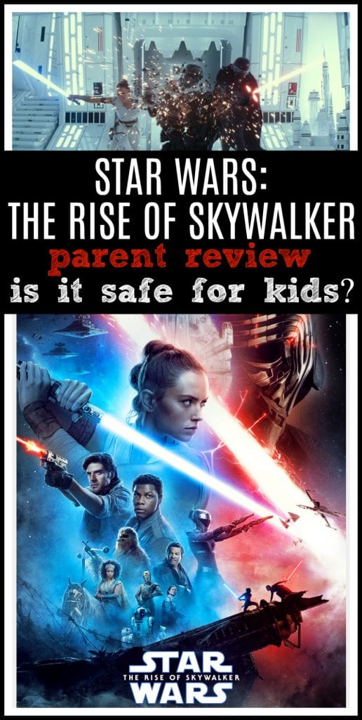 Star wars the rise of skywalker kids movie review