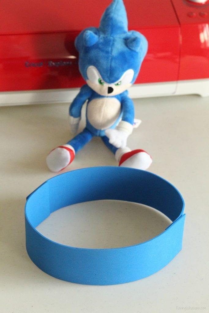Sonic headband diy