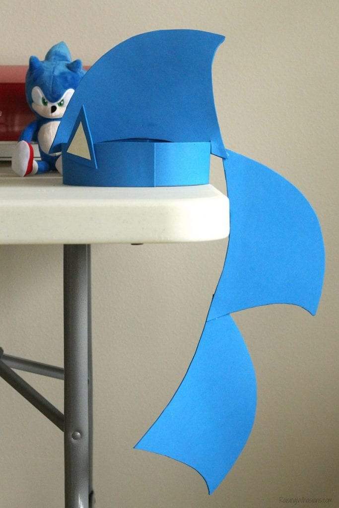 Sonic The Hedgehog Party Hat Diy Raising Whasians