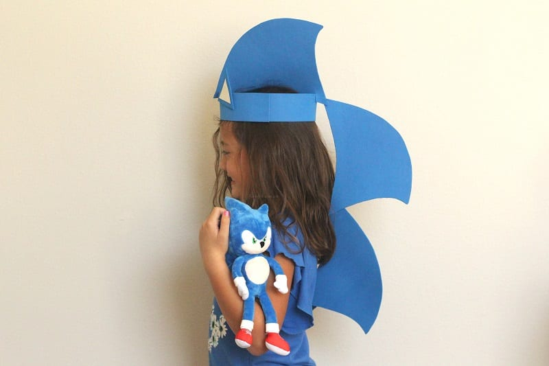 Sonic the hedgehog kids craft
