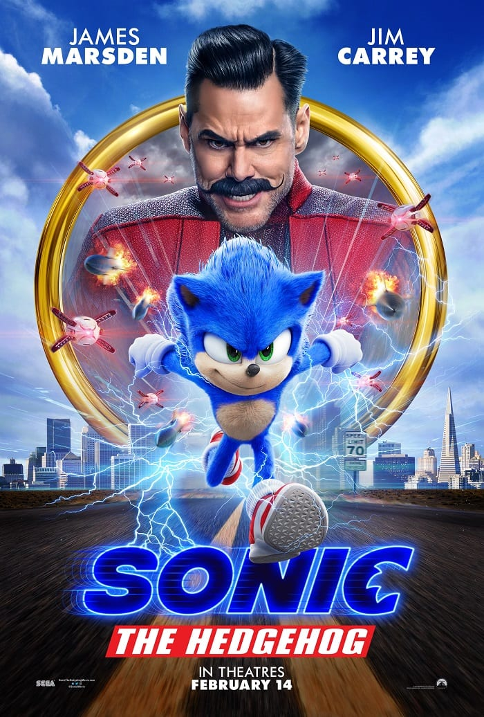 Sonic the hedgehog movie craft