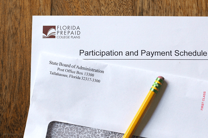 Florida prepaid refund check